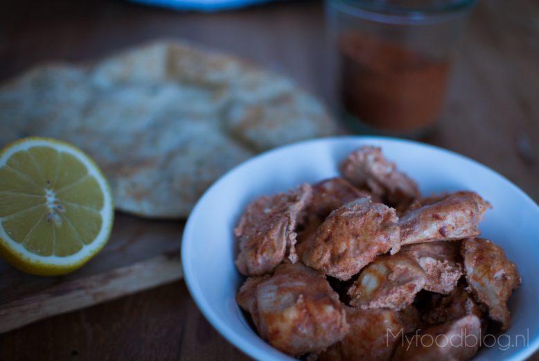 Authentieke Indiase kip tandoori recept