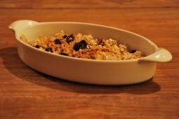Superfood Sunday: glutenvrije perencrumble zonder suiker