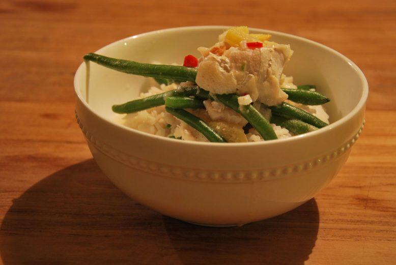 Quick & easy: makkelijke curry met vis