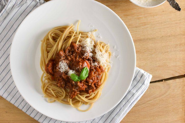 Recept spaghetti bolognese