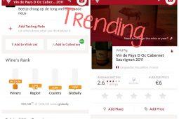 Trending: Vivino wijn app