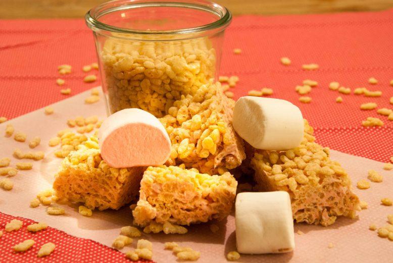 Verantwoord tussendoortje: rice krispy treat