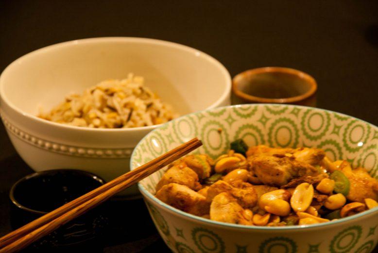 Asian cuisine: Chinese kip – gon bao kai