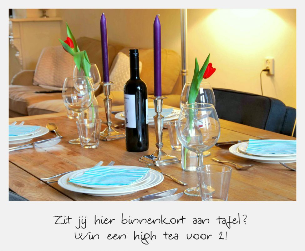 Win een superdeluxe high tea voor 2 personen