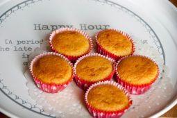 Glutenvrije amandel cupcakes