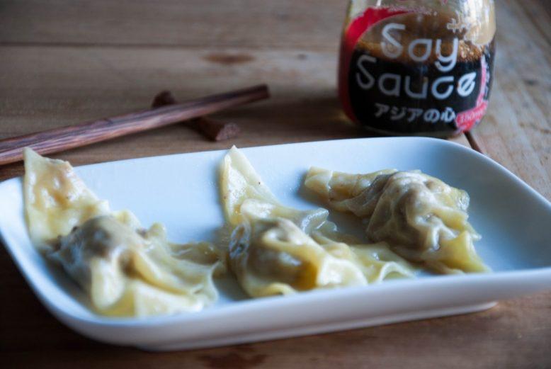 Asian cuisine: Japanse gyoza