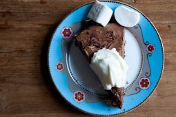 No-bake chocoladetaart met Baileys en Oreo's