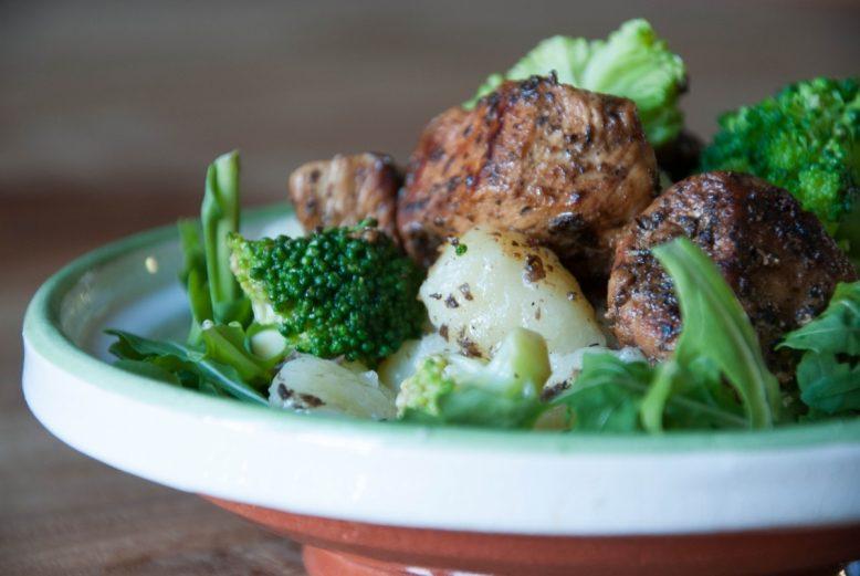 Gnocchi met kip en broccoli
