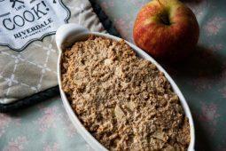 Baked oats / een gezond appeltaartje als ontbijt (glutenvrij, suikervrij, lactosevrij)