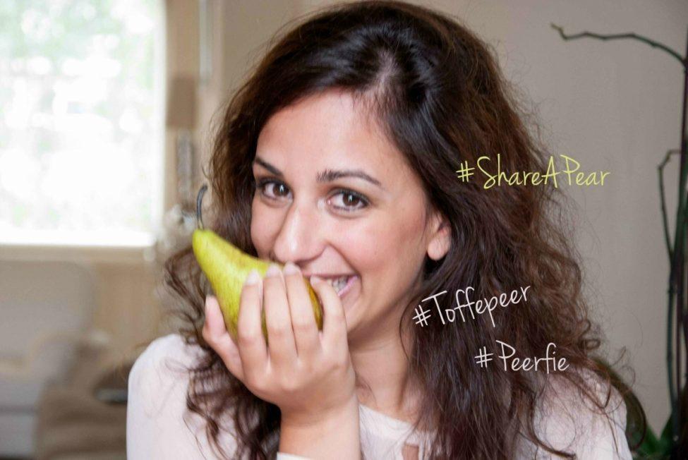 Trending: #ShareAPear #ToffePeer #peerfie