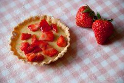 Frisse aardbeientaartjes