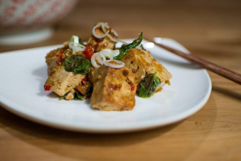 Pittige Vietnamese tofu