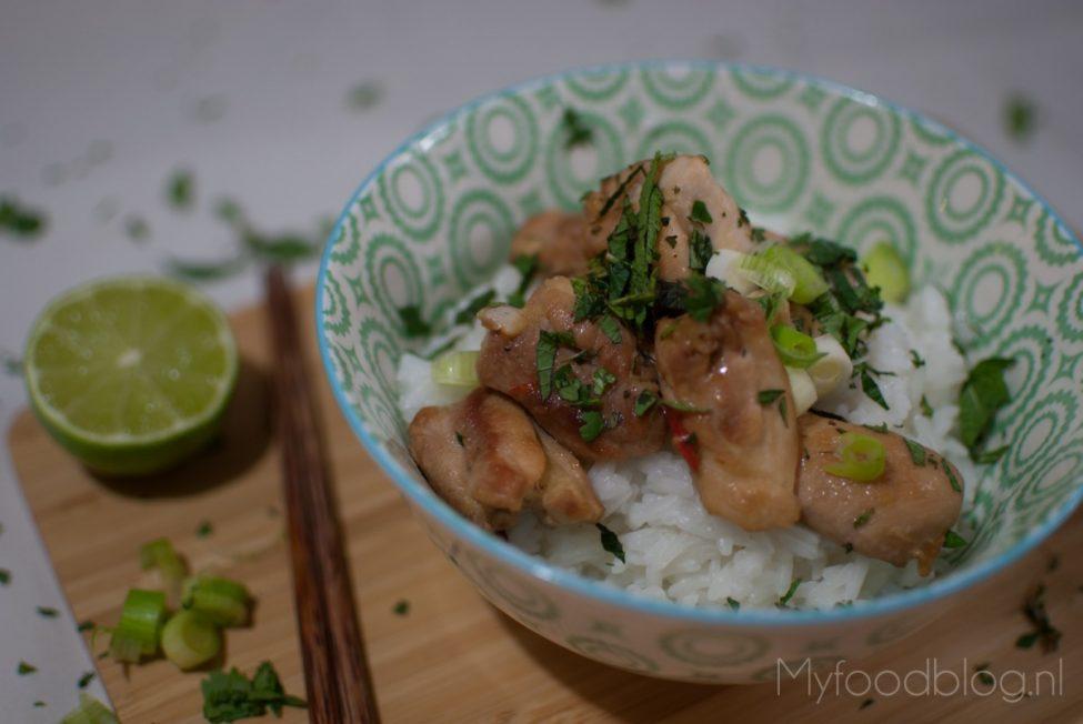Zoetzure Vietnamese kip