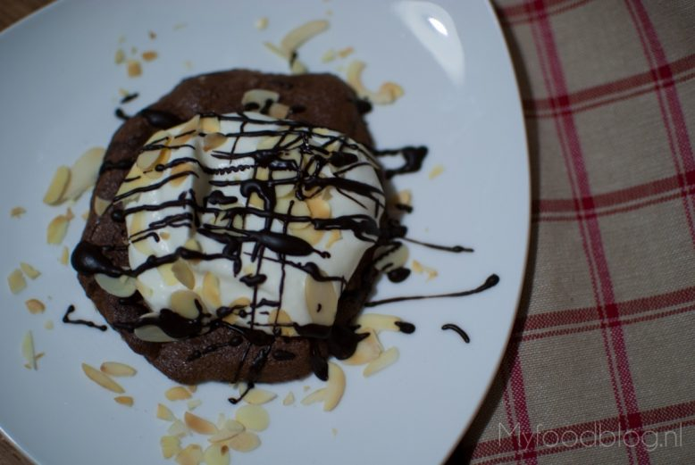 Chocolade pavlova met Bailey's room