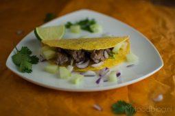 Snelle Mexicaanse taco's met rundvlees