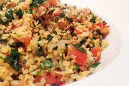 Libanees comfort food: Safsouf