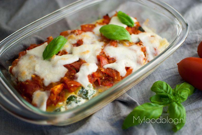 Makkelijk & licht cannelloni recept