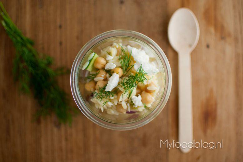 Heerlijk zomerse riso salade