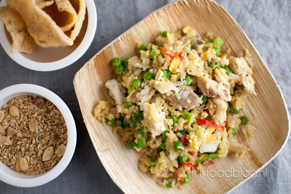 Pittige gebakken rijst