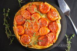 Hartige tomaten tarte tatin