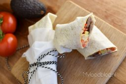 Ontbijt burrito