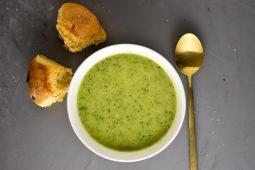 Courgette venkel soep