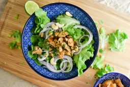 Thaise larb salade
