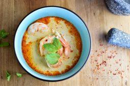 Laksa (pittige Maleisische soep)