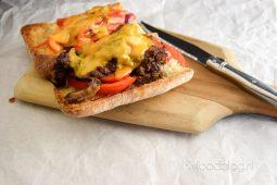 Philly cheese steak (Amerikaans broodje biefstuk)
