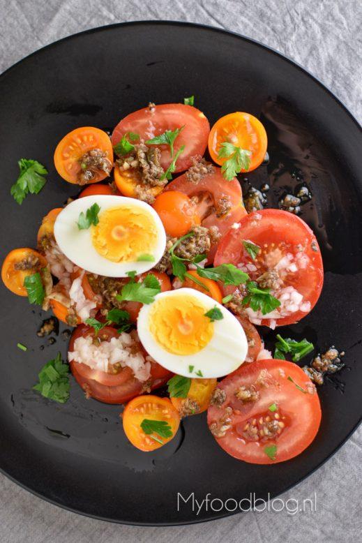 Tomatensalade met pit