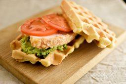 Chicken waffles