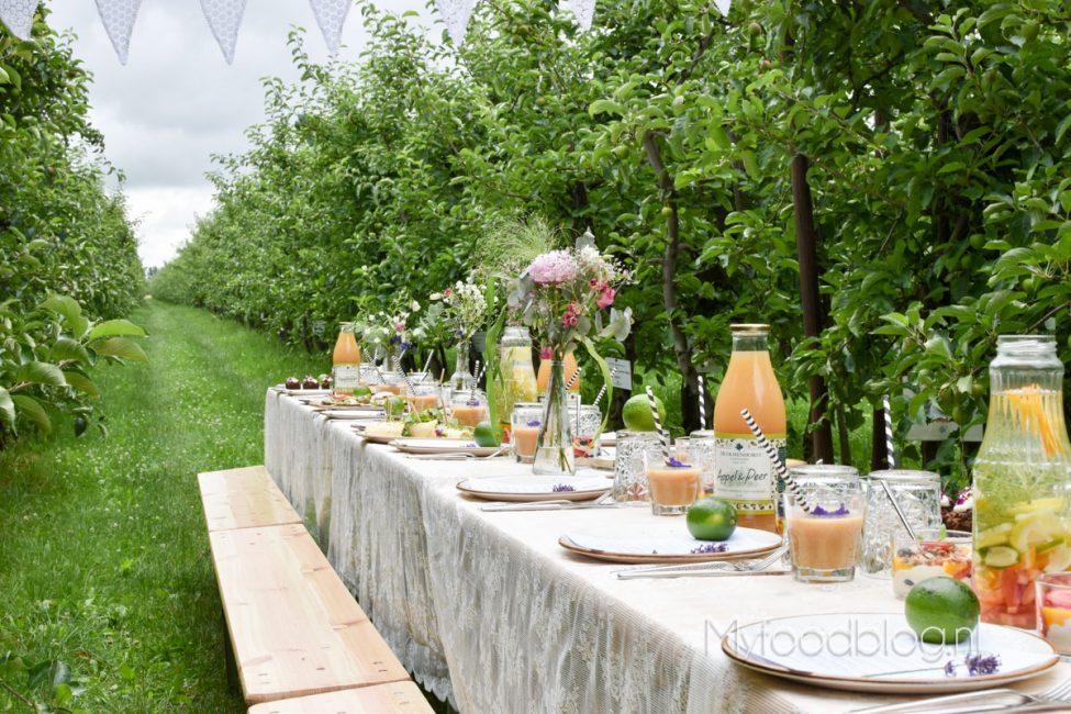 Heerlijk proeven, kijken en slenteren tussen de appelbomen