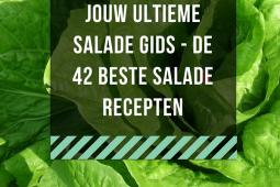 De ultieme salade gids – 42 salade recepten