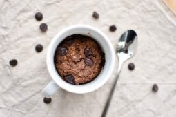 Cookie dough mug cake (gezondere variant!)