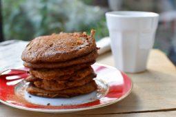 Pompoen pannenkoeken (Pumpkin spice latte pannenkoeken)