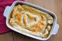 Kippastei van Jamie Oliver met champignons (Chicken pie)