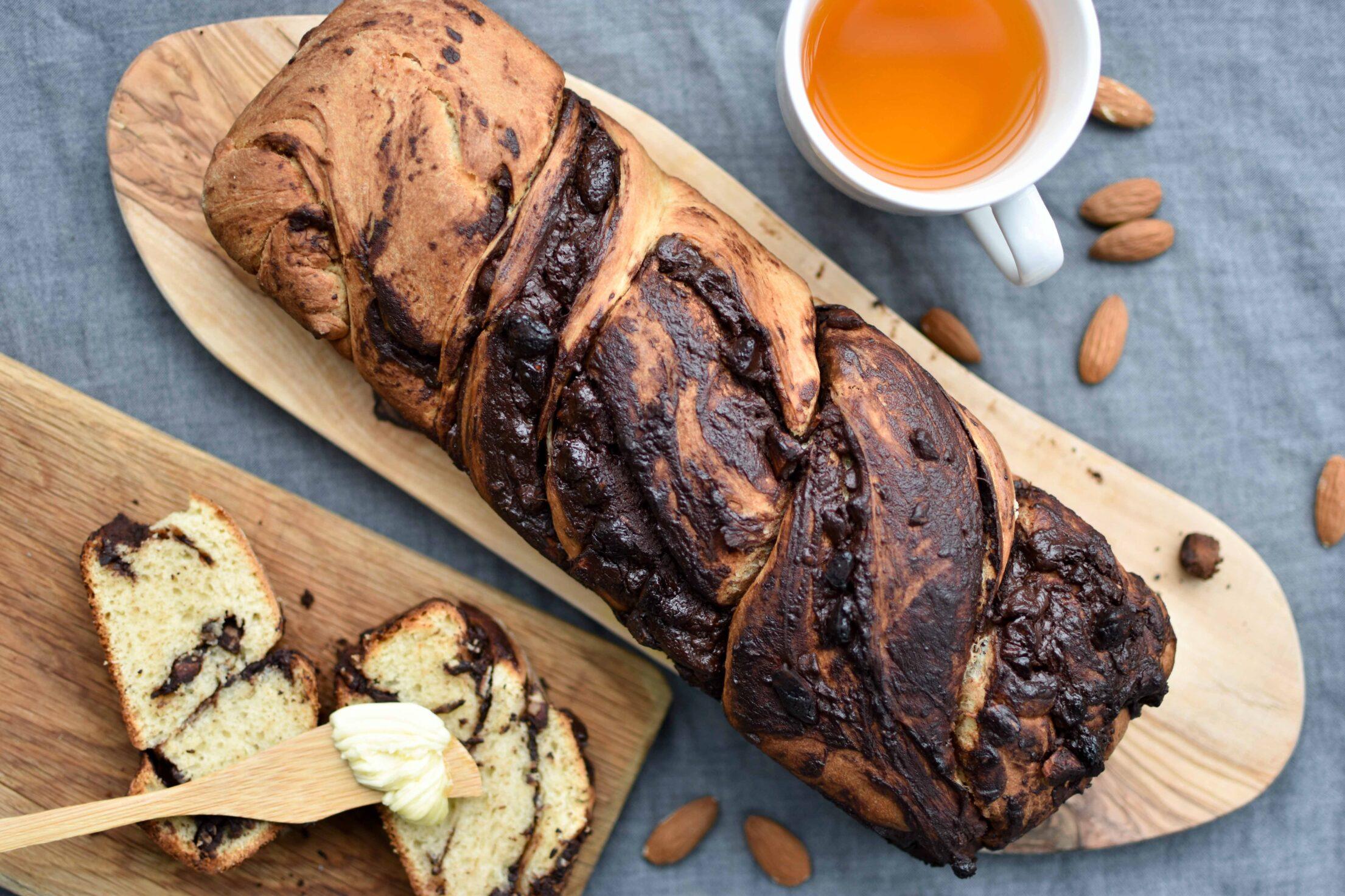 Chocolade babka