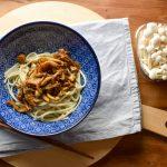 Razendsnel soba noodles recept met paddenstoelen