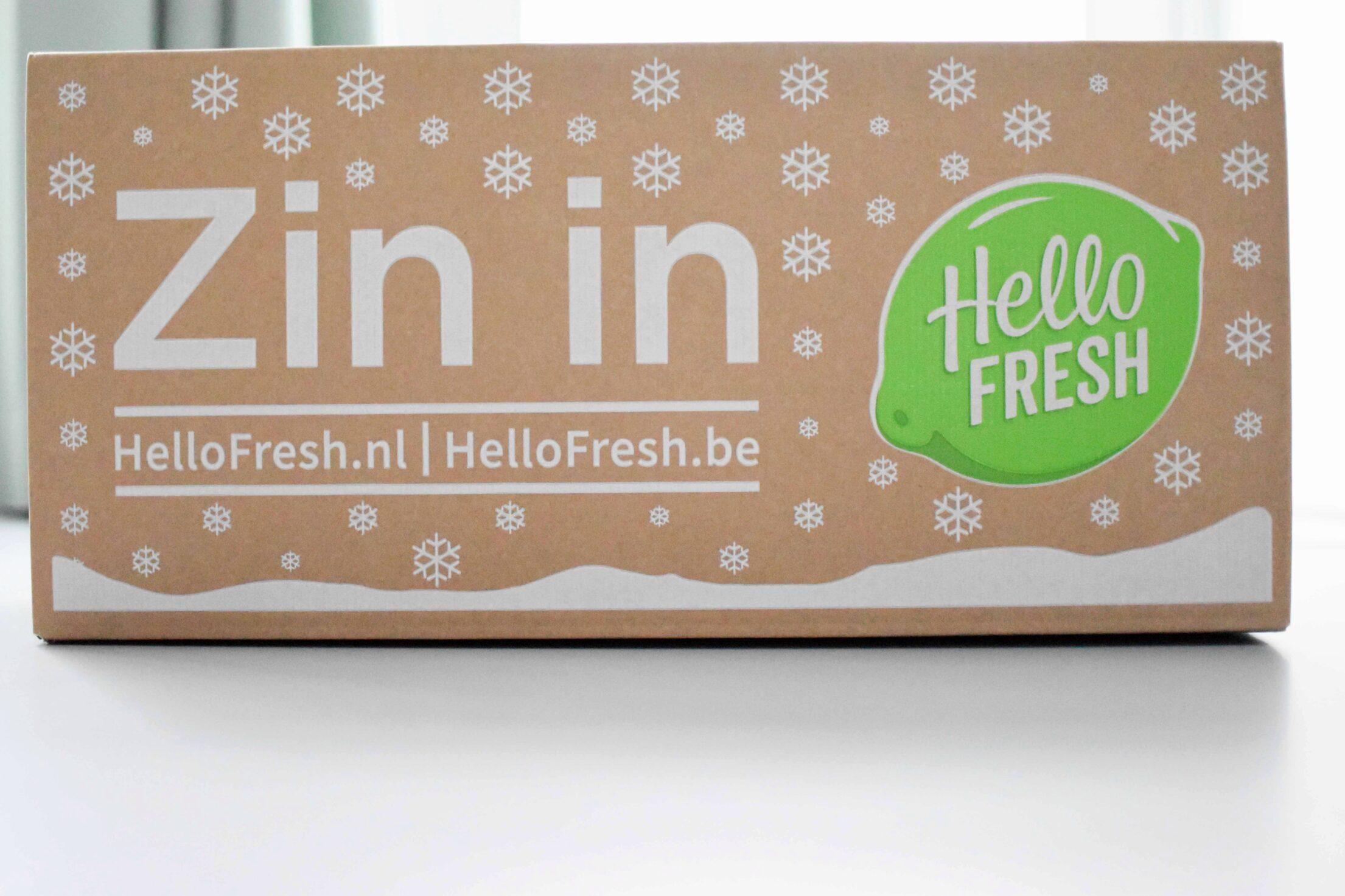 Review: HelloFresh Kerstbox Deluxe
