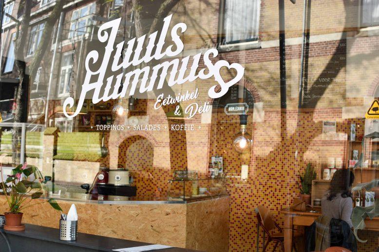 Juuls hummus in Uyrecht-Oost (Baanstraat)