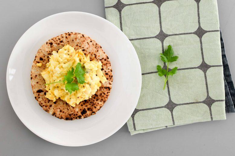 Basic eiersalade recept (+7 variatietips voor eiersalade!)