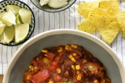 Chili sin carne (chili con carne zonder vlees)