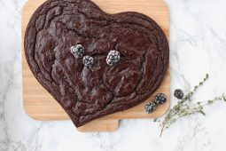 Luchtige, gezonde chocoladecake