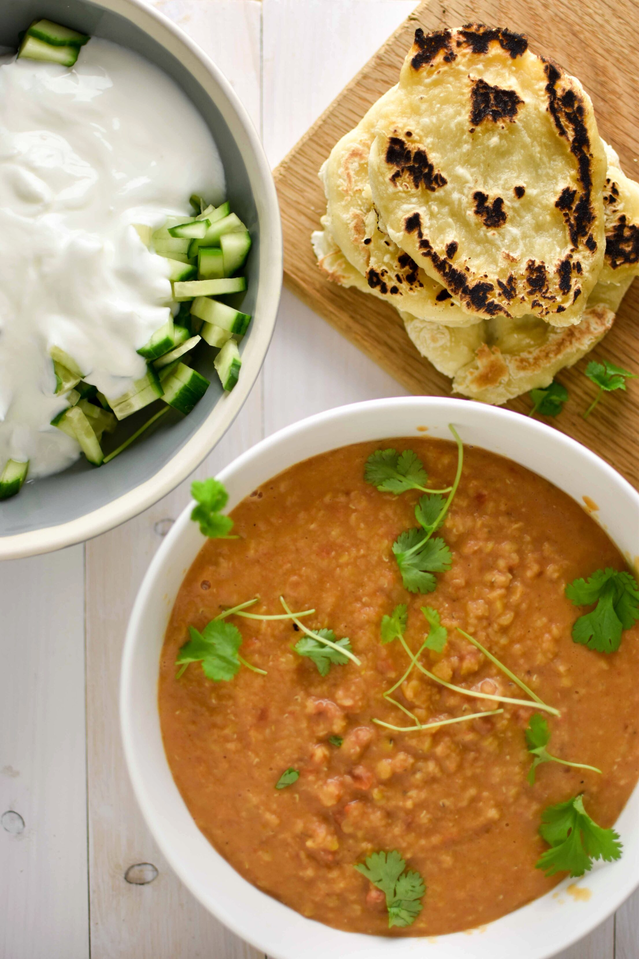 Dhal curry (Indiase splitlinzen curry)