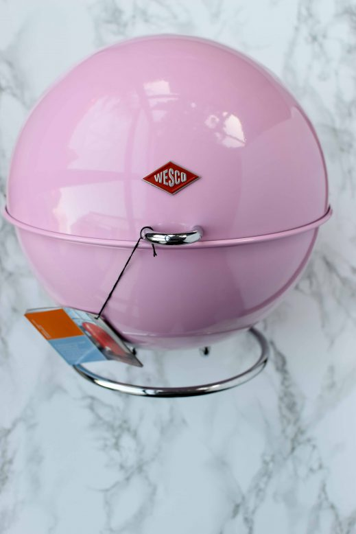 roze opbergbox