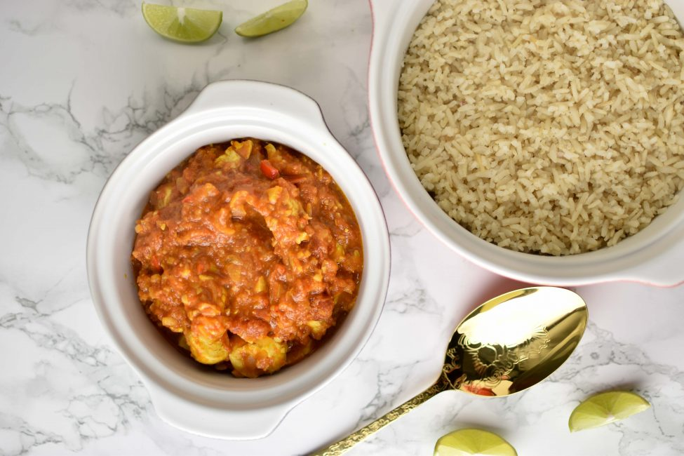 Indiase curry madras