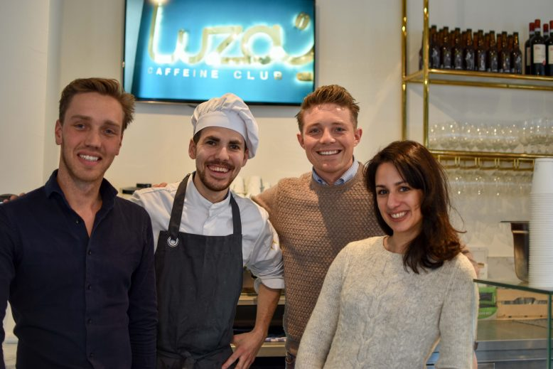 Eigenaren en kok Luza's