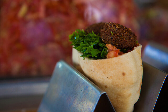 falafel in Tel Aviv