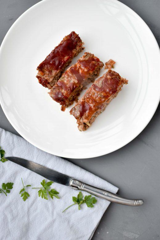 Het lekkerste gehaktbrood recept (mét BBQ saus)