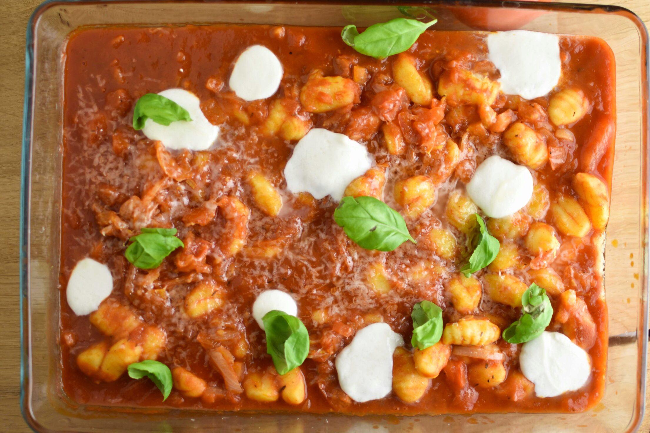Gnocchi recept uit de oven